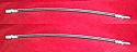 FRONT BRAKE HOSES x2 (Humber Sceptre) (Ser.1&2) (1963- 67)