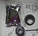 FRONT WHEEL HUB BEARING KIT x1 (Daimler Dart SP250) (1959- 64)