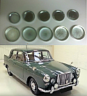 CORE PLUG ENGINE SET (VDP Van Den Plas Princess) (3.0 Litre) (1959- 64)
