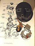 DISTRIBUTOR CAP POINTS ROTOR ARM CONDENSER (Austin A60 Cambridge) (1961- 66 Only)
