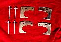 FRONT BRAKE PAD FITTING KIT - PINS & SHIMS (Morgan 4/4) (Ser.V & 1600) & (Morgan Plus 4) (1966- 93)