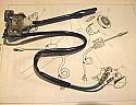 INDICATOR STALK SWITCH (Lotus Europa) (1966- 75)