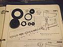 BRAKE MASTER CYLINDER REPAIR SEALS KIT (Morgan 4/4 1600cc) (** 1968- Aug 77 Only **)
