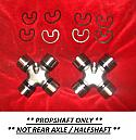 PROPSHAFT UNIVERSAL JOINTS x2 (Bentley T1 T2 T3 & Mulsanne) (1965- 83 Only)
