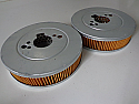 AIR FILTERS x2 (Triumph Dolomite 1850) (** See Engine Numbers **)