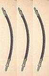 FRONT & REAR BRAKE HOSES x3 (Ford Corsair) (1500, 1700, 2000e, V4 & GT) (1963- 70)