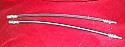 FRONT BRAKE HOSES x2 (Jaguar S Type) (3.4 & 3.8) (1963- 68)