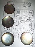 CORE PLUG ENGINE SET (Wolseley 15/50) (1956- 58)