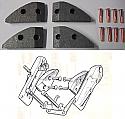 HANDBRAKE PADS (Jaguar XK150) (1958- 61)