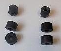 FRONT ANTI ROLL BAR LINK BUSHES x6 (Upper & Lower) (Jaguar MkX) (1961- 70)