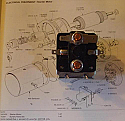 STARTER SOLENOID (Triumph Spitfire & GT6) (From 1970- 81)