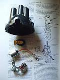 DISTRIBUTOR CAP POINTS ROTOR ARM CONDENSER (Ford Capri Consul Capri Classic) (109e & 116e) (1961- 64)