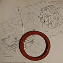 REAR ENGINE OIL SEAL - CRANKSHAFT (Triumph TR7) (1975- 81)