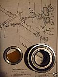 REAR WHEEL HUB BEARING KIT x1 (Ford Escort Mk1) (950, 1100 1300, Mexico, RS1600 & RS2000)