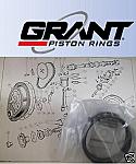 PISTON RINGS SET Std (Mini 850) (848cc) (**5 Ring Type**) (1959- 80)