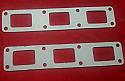 EXHAUST MANIFOLD GASKETS x2 (Jaguar XJ6) (Ser.1,2 &3) (2.8, 3.4 & 4.2) (1968- 79)